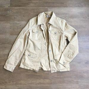 Tan utility jacket
